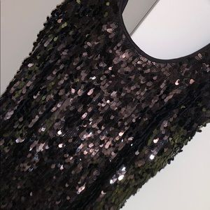 Gorgeous black sequenced dress / worn once